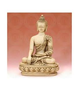 White Figure Buddha Medium 7.5 WF758