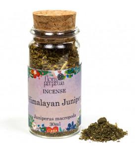 Jałowiec himalajski (himalayan juniper), kadzidło drzewne (szklana buteleczka z korkiem) 30g Flora Perpetua