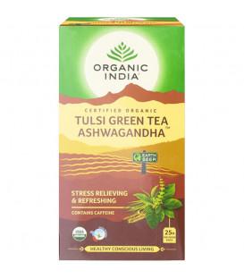 Tulsi Green Tea Ashwagandha 25 Tea Bags