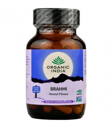 Brahmi  Organic India 60 kaps x 400mg Centella asiatica (Suplement diety)