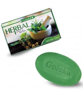 Naturalne Mydło Ziołowe Indyjskie Herbal Soap 75g Goloka Nag Champa