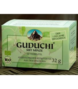 Herbatka Nepalska BIO Guduchi z Miętą BIO 20 torebek na TRAWIENIE