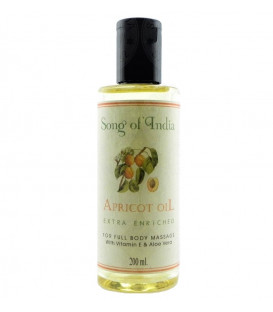 200 ml. Apricot Extra Enriched Base Oil in Round Bottles WEAPV200