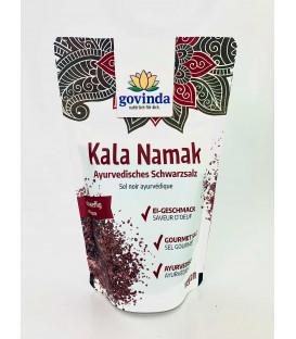 Ayurvedyjska Czarna Sól Kala Namak, pojemnik szklany, 100 g Govinda