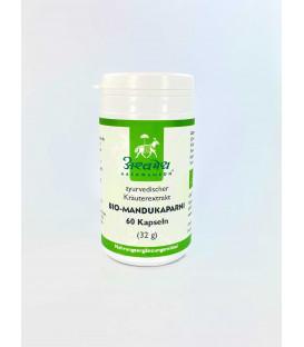 Mandukaparni (Gotu Kola) organic, 60 capsules (32 g) (60 Kapseln)