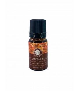 Olejek zapachowy z zakraplaczem, Cynamon z Pomarańczą , Song of India, 10ml