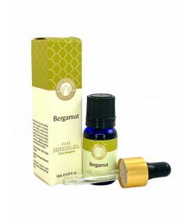 Olejek eteryczny z aplikatorem - Bergamotka (Carus Bergamia), 10 ml. Luxurious Veda Song of India
