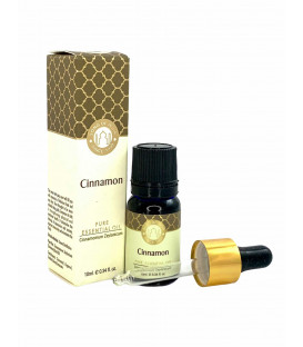 Olejek eteryczny z aplikatorem - Cynamon, 10 ml. Luxurious Veda Song of India