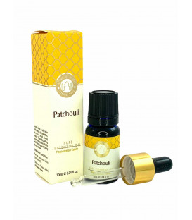 Olejek eteryczny z aplikatorem - Patchouli (Patchouli), 10 ml. Luxurious Veda, Song of India
