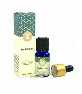 Olejek eteryczny z aplikatorem - Frankincense (kadzidłowiec, Boswelia Carterii), 10 ml. Luxurious Veda Song of India