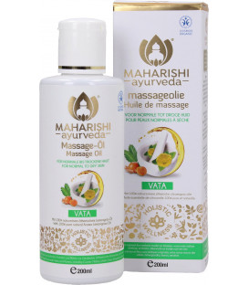 Olejek BIO do Masażu Vata Massage Oil BDIH, 200ml Maharishi