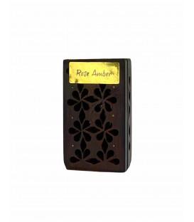 Żywica Zapachowa Róża i Ambra w szkatułce z drewna różanego 5g Song of India