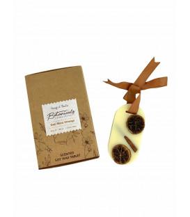 Zawieszka zapachowa z wosku sojowego - Goji Tarocco Orange, 30 g. Botanical Aromatherapy