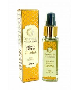 Luksusowy spray zapachowy - Tuberoza & Jaśmin (Vata), 50 ml. Luxurious Veda Song of India