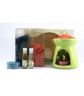 70 g. Aroma Crystals Kit with Aroma Oil, Large Burner and Neroli Essence