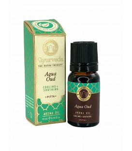Olejek zapachowy z zakraplaczem Nuta Morska z Oud Drewno Agarowe (Pitta) 10 ml Luxurious Veda Song of India