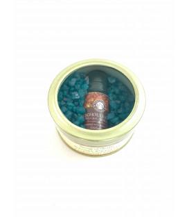 Aroma Crystals Ambra Bursztynowe - Zapachowe Kryształki 70 g. i Olejek zapachowy 10 ml. Song of India