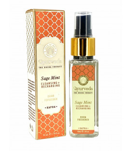Luksusowy spray zapachowy - Szałwia & Mięta (Kapha), 50 ml. Luxurious Veda Song of India
