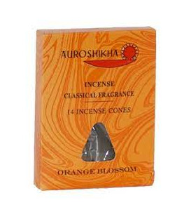 14 Orange Blossom Marbled Perfume Cones Pack