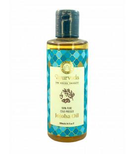 Olejek do ciała i włosów JOJOBA OIL (tłoczony na zimno) Virgin 200 ml. Song of India