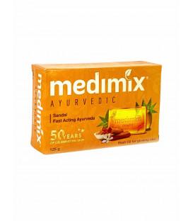 Ajurwedyjskie Mydło Sandałowe (dla skóry z niedoskonałościami) 125g Medimix
