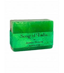 Mydło glicerynowe z pumeksem z orzecha z dodatkiem olejku Jaśminowego 125 g Song of India