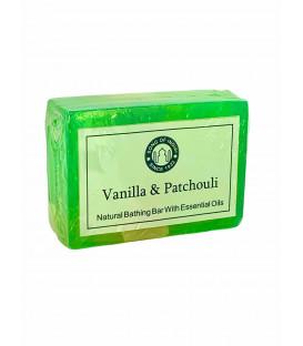 Ręcznie robione mydełko 125g. Wanilia i Paczuli, Song of India