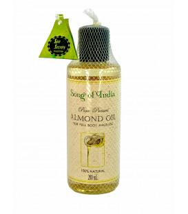 Olejek migdałowy czysty (100% naturalny) w butelce 200 ml. Song of India