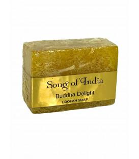 Ręcznie robione mydło glicerynowe z pilingującą Luffa (LOOFAH) - Buddha Delight 125 g. Song of India