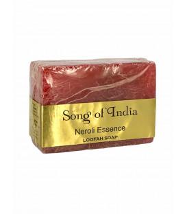 Ręcznie robione mydło glicerynowe z pilingującą Luffa (LOOFAH) - Neroli Essence 125 g. Song of India