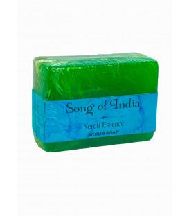 Mydło glicerynowe z pumeksem z orzecha z dodatkiem olejku Neroli, 125 g. Song of India