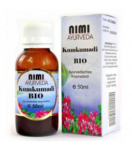 Organiczny olejek Kumkumadi Anti Aging Ayurveda 50 ml Nimi