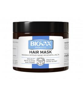 Maska BIOVAX Prebiotic Intensywnie Regenerująca do wrażliwej skóry głowy 250 ml