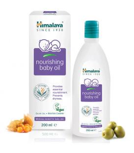 Odżywczy Olejek dla Dzieci z Oliwą z oliwek i Zimową Wiśnią, 200ml, Himalaya (Nourishing Baby Oil)  WYPRZEDAŹ!!!
