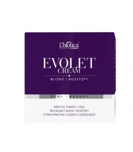 Evolet - krem na rozstępy z masy perłowej i olejku dzikiej róży 150ml L'biotica