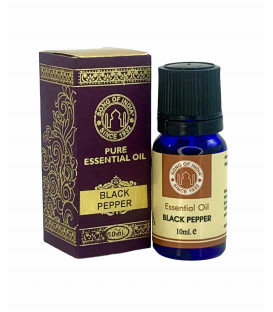 Olejek eteryczny - Czarny Pieprz (Black Pepper), 10 ml. Song of India