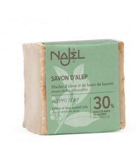 Mydło oliwkowo-laurowe Aleppo 185g (30% oleju laurowego) Najel