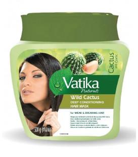 Maska do włosów Dziki Kaktus Vatika 500ml Dabur - włosy wypadające i łamliwe