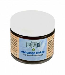Olejek kojący do wrażliwej skóry niemowląt 20 ziół Ajurwedyjskich Santulan, 100 ml