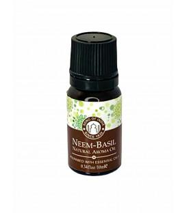 Olejek zapachowy z zakraplaczem Neem z Tulsi Song of India 10ml