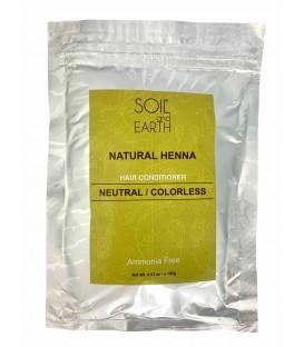 Naturalna Henna do włosów Indyjska Cassia (BEZBARWNA) 100g Soil &Earth
