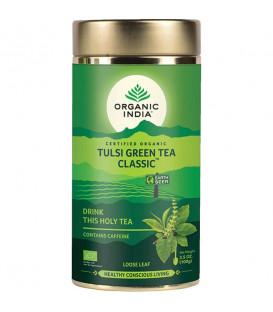 Herbata Green Tulsi Tea 100g sypana Organic India