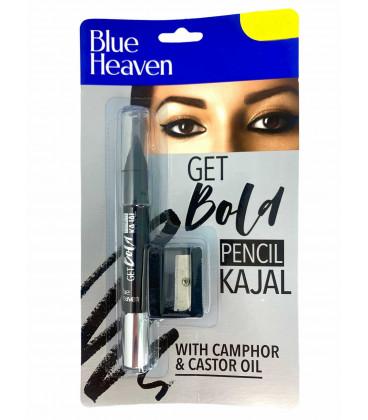 Kajal BOLD (Dawny Xpression) z temperówką kolor czarny Blue Heaven 3.2g