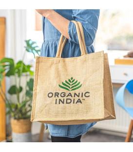 Torba zakupowa ekologiczna z juty Organic India