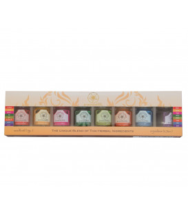 Massage balms in different 8 balms of real Thai top q...