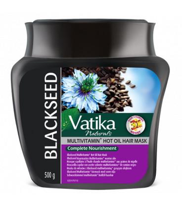 Maska do włosów z czarnuszką Vatika 500ml Dabur (Black seed mask)