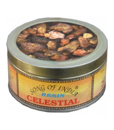 Żywica Celestial, Naturalne kadzidło do spalania, puszka 60g. Song of India