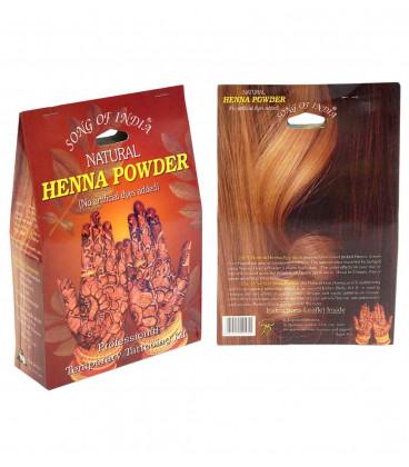 Henna Naturalna 100g. + zestaw do mehandi (stożek do aplikacji, olejek, szablony, rękawiczki)