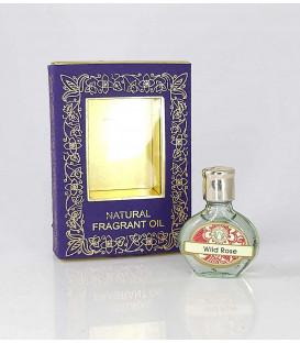 3 ml. Perfume Oil in Oval Orb Glass Bottles 45CC Wild Rose