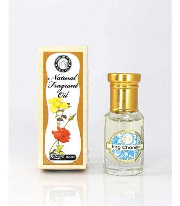 5 ml. Perfume Oil in Roll-On Glass Bottles (Set of 12) 5CC Nag Champa